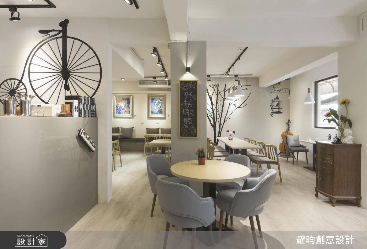 實踐生活美學從「食」招來!老屋改造淨白北歐風餐廳