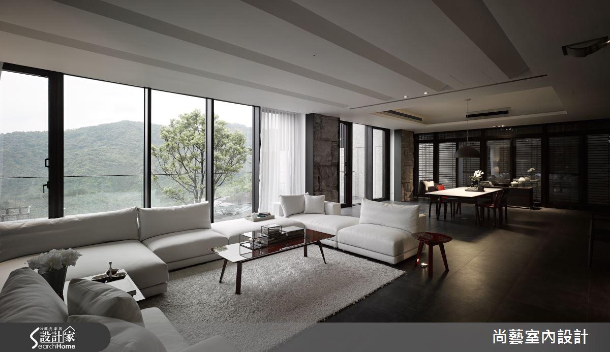 坐擁青山綠意,建構大器磅礡的現代景觀豪宅