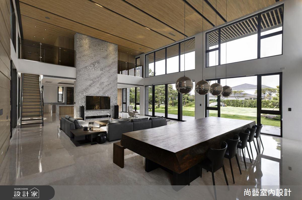 絕美現代風挑高別墅,把家變成收藏歲月的博物館