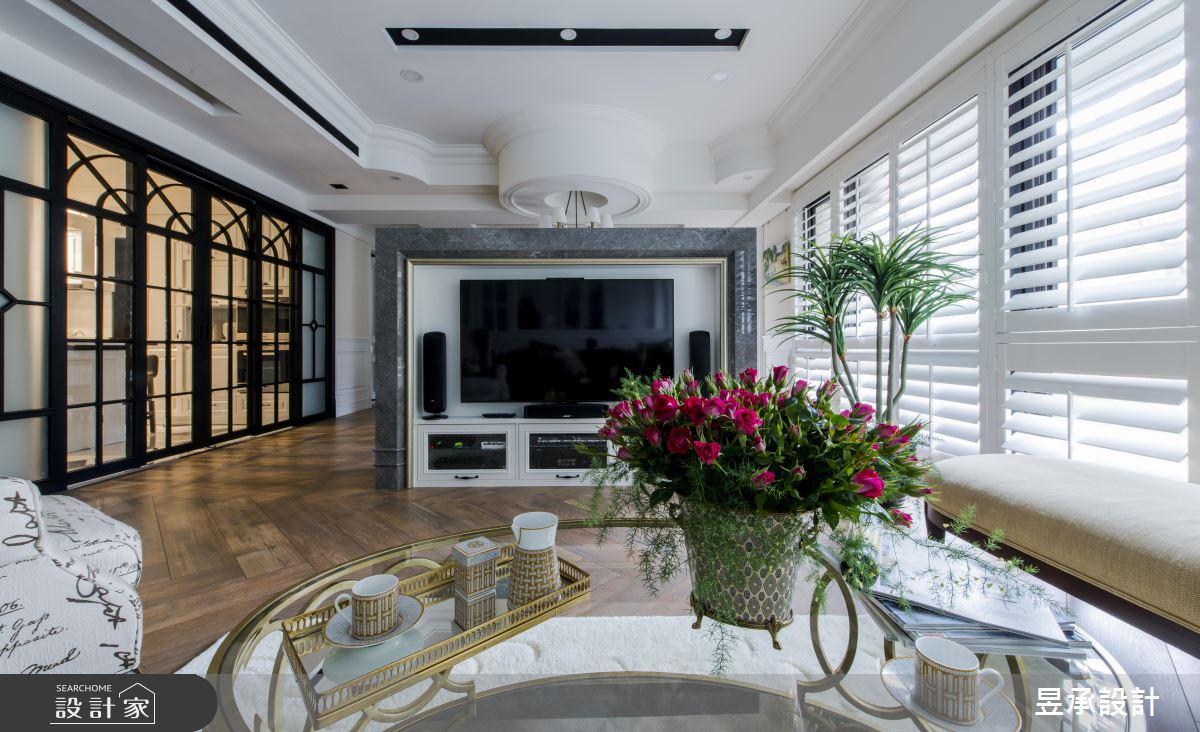 讓 5 房 2 廳都有採光!百坪美式的低奢大宅典範