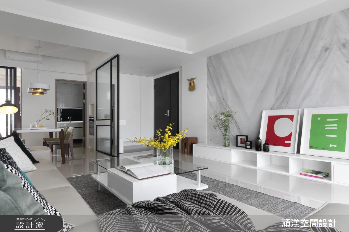 黑白灰視覺降溫法!夏季限定的現代風涼爽好宅