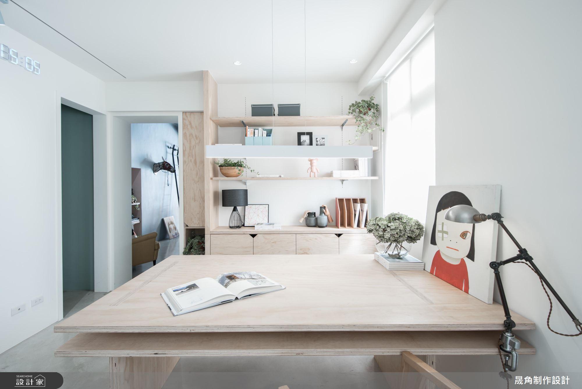 設計好靈感的起點!清新、樂活的 16 坪設計師辦公室