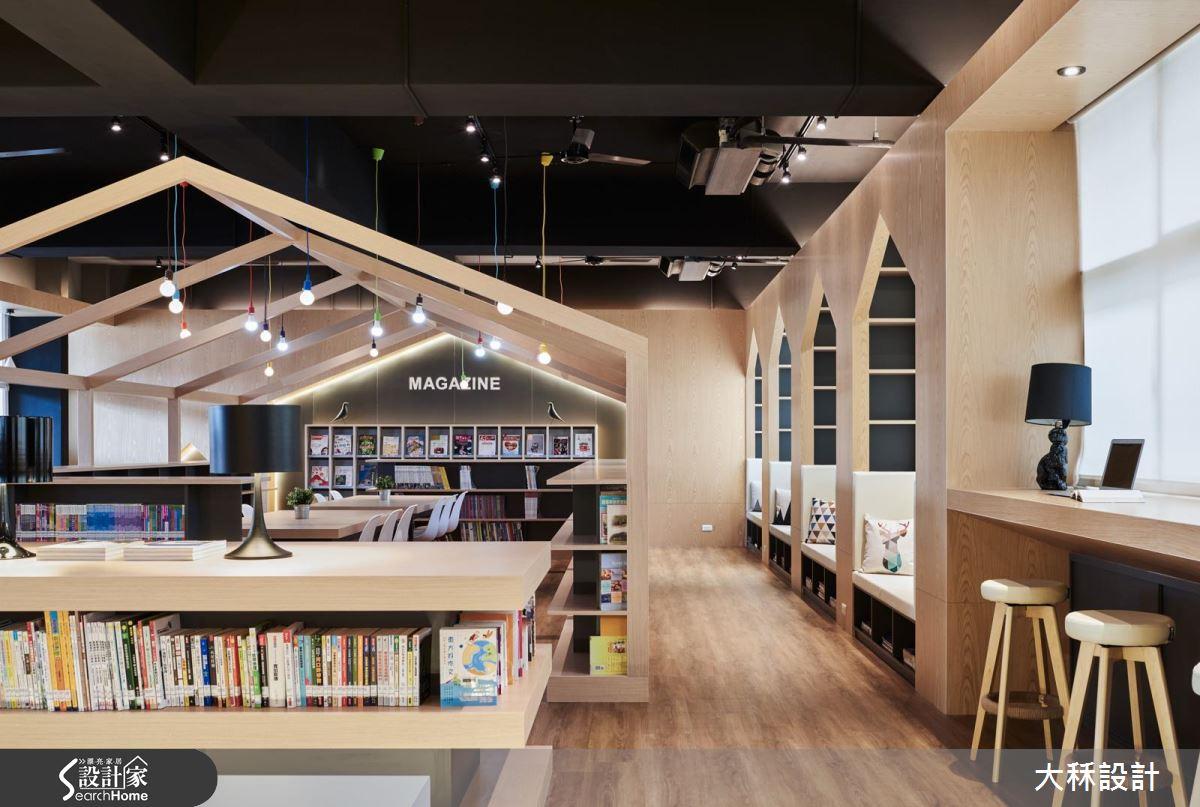 下課文青十分鐘! 讓全校師生都愛上的超人氣圖書館!