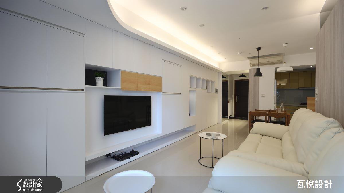 用美型收納決勝負! 打造簡約有質感的 25 坪 4 口之家