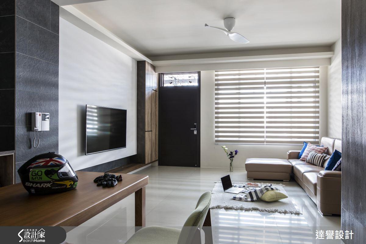 風格 X 收納 X 安全! 35 坪現代風美宅的心動提案