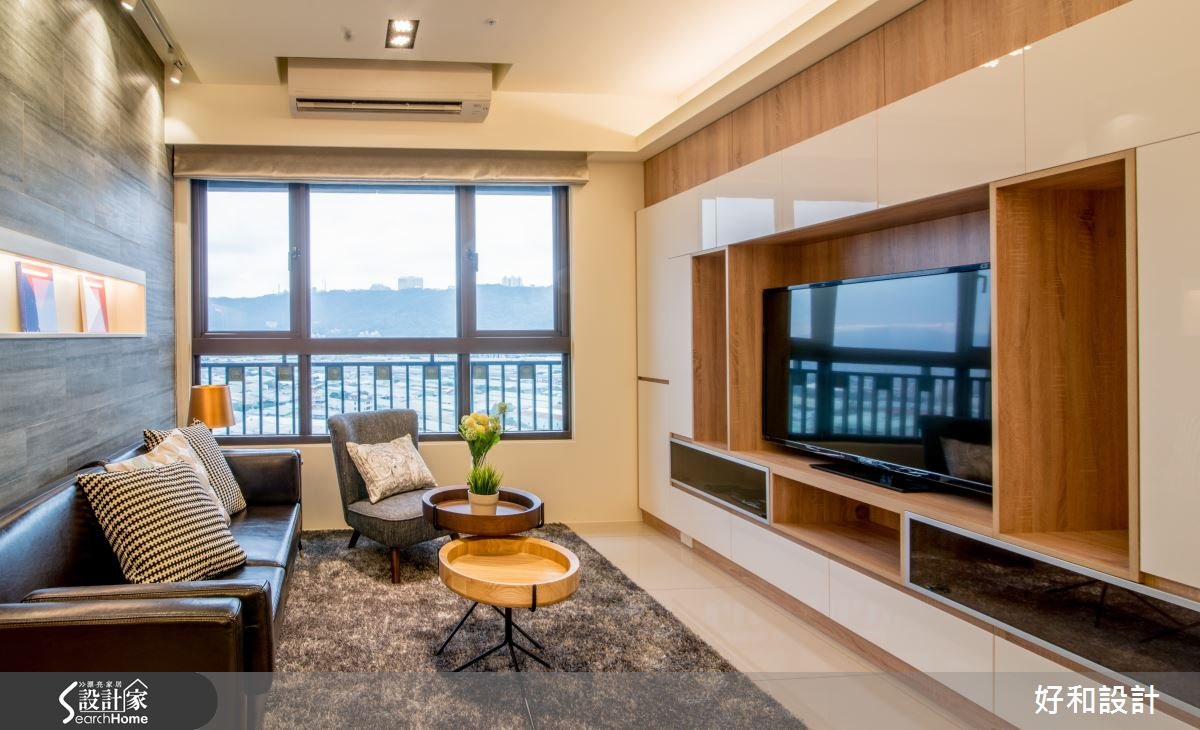設計質感與收納機能兼具 28坪樂活現代北歐宅