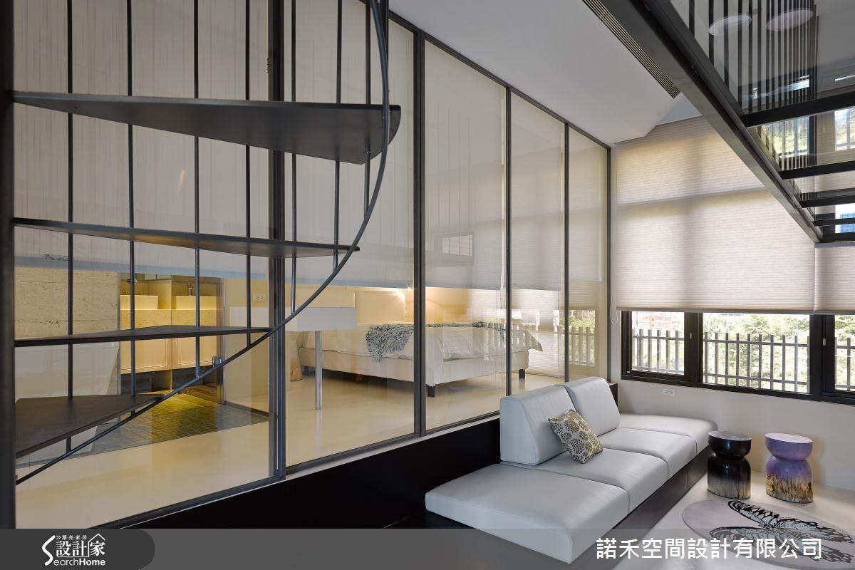 為房室注入魔幻魅力    以現代風打造12坪前衛夾層宅