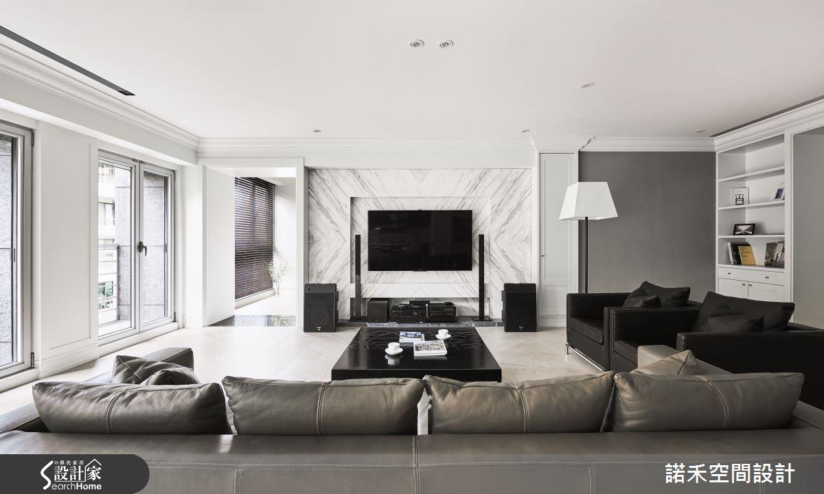 好建材 x 好採光  50 坪混搭宅的理想生活