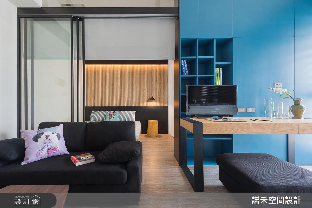 就用8坪成家!空間感、時尚感、收納量不設限的單身宅