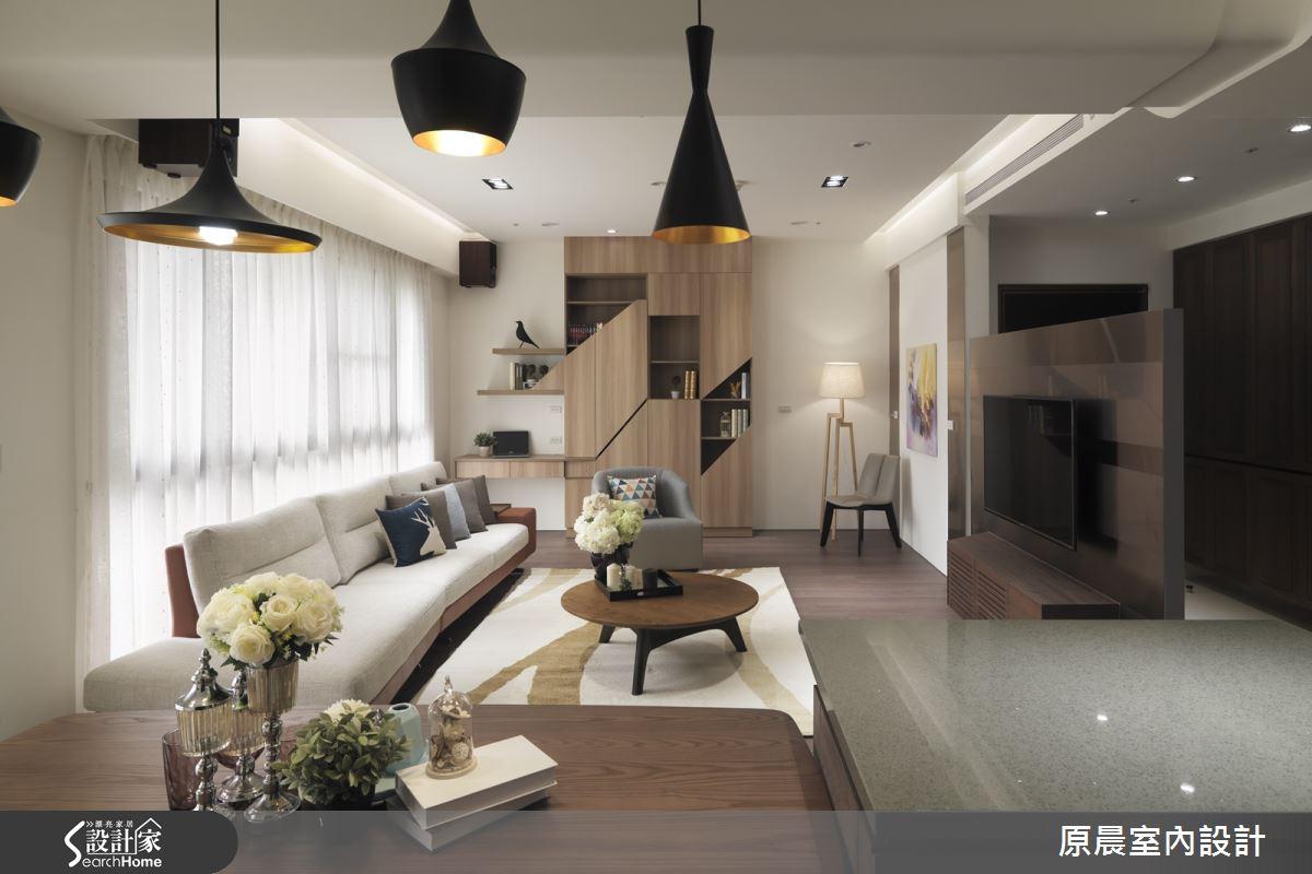 瀰漫烘焙馨香,溫和可親的 50 坪休閒家居!