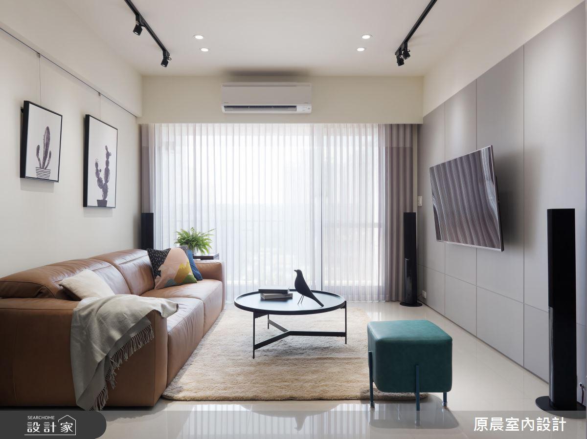 30 坪的優質現代風居宅,演繹家的美好本質