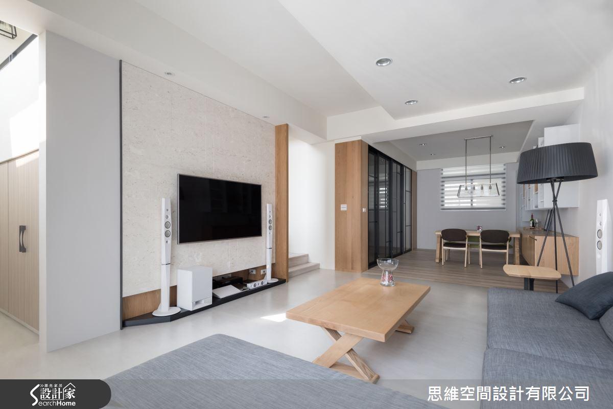 清爽的居家設計 享受50坪光感生活
