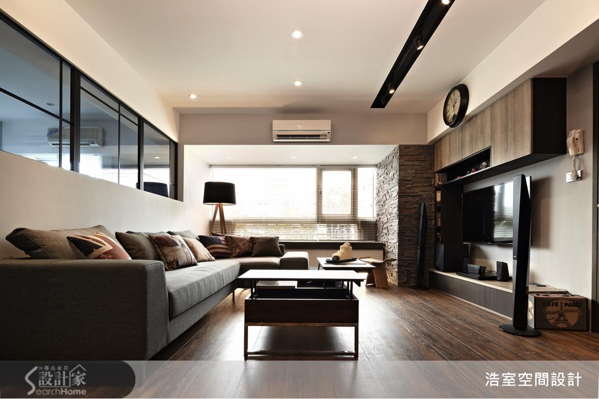 Houseplan Com 老屋新風貌 25坪居宅就像紐約咖啡館-設計家 Searchome