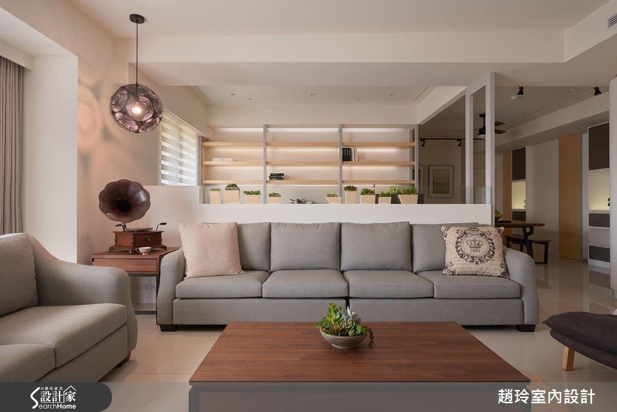 舒適最重要! 放大空間感 戀上溫和休閒大宅