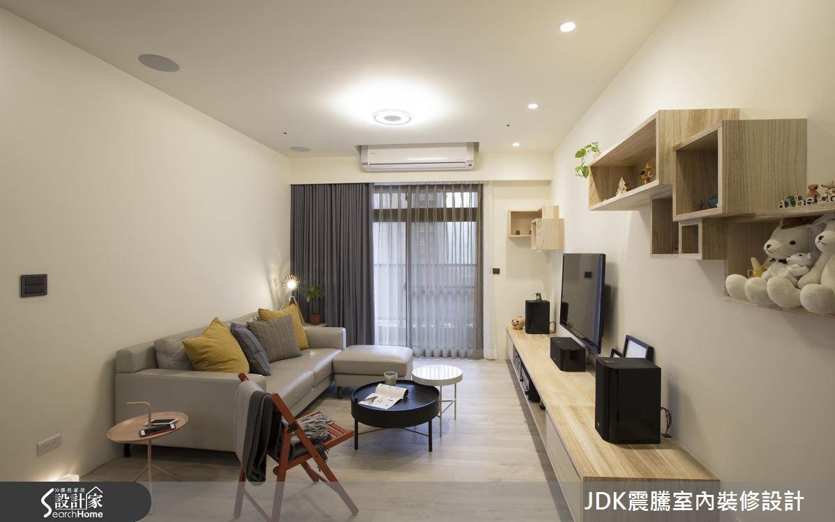 加大廚房再送更衣室!22 坪現代風新婚宅的聰明規劃法