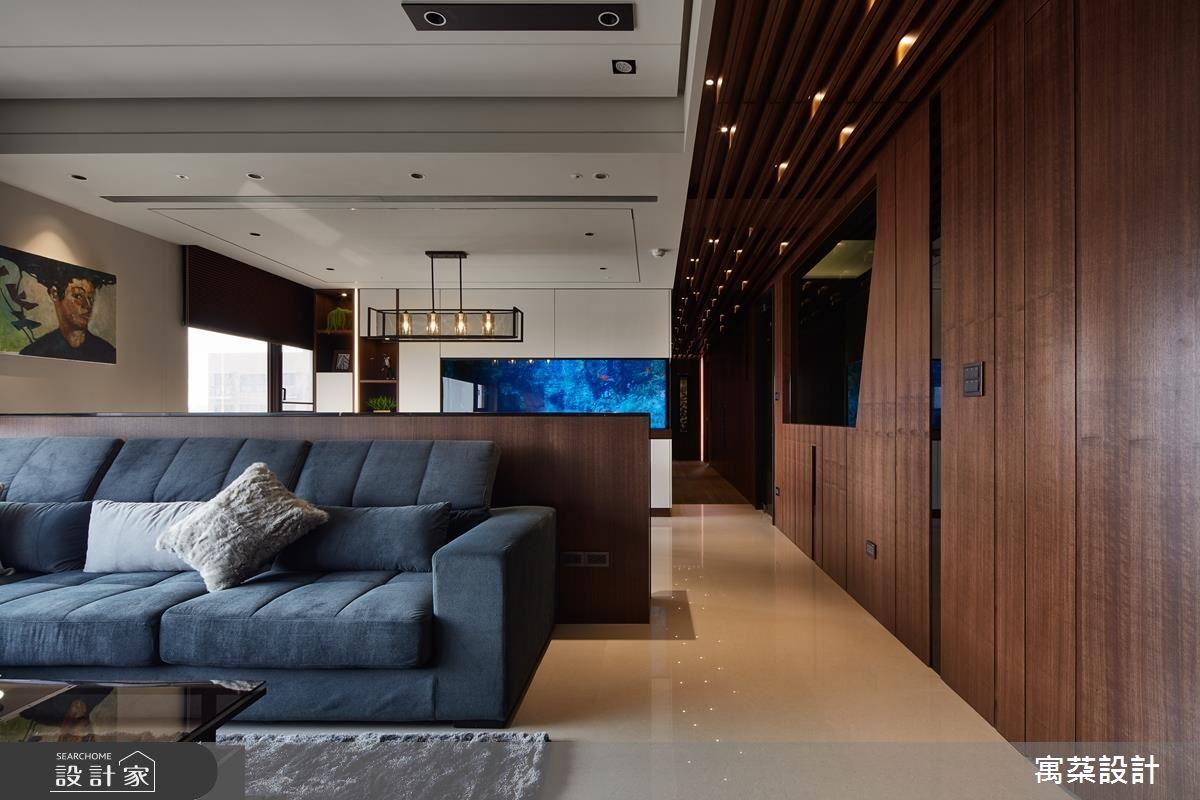 現代風裡的水底情深,看見木質調居宅的海洋之心
