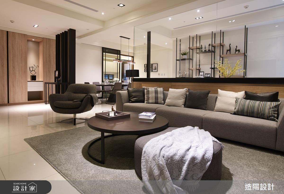 質感至上現代風大宅!舒適實用的空間樣貌