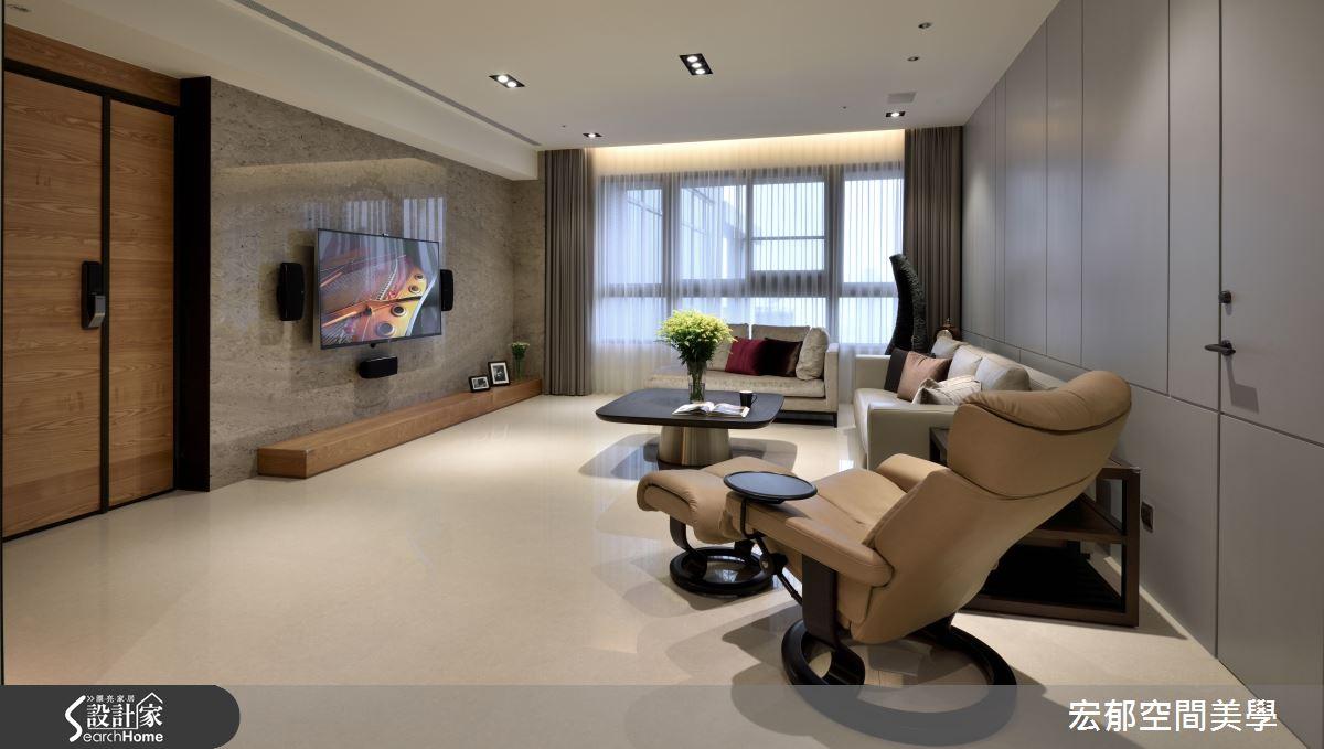 簡單就是美 享受 42 坪現代宅的寧靜氣息