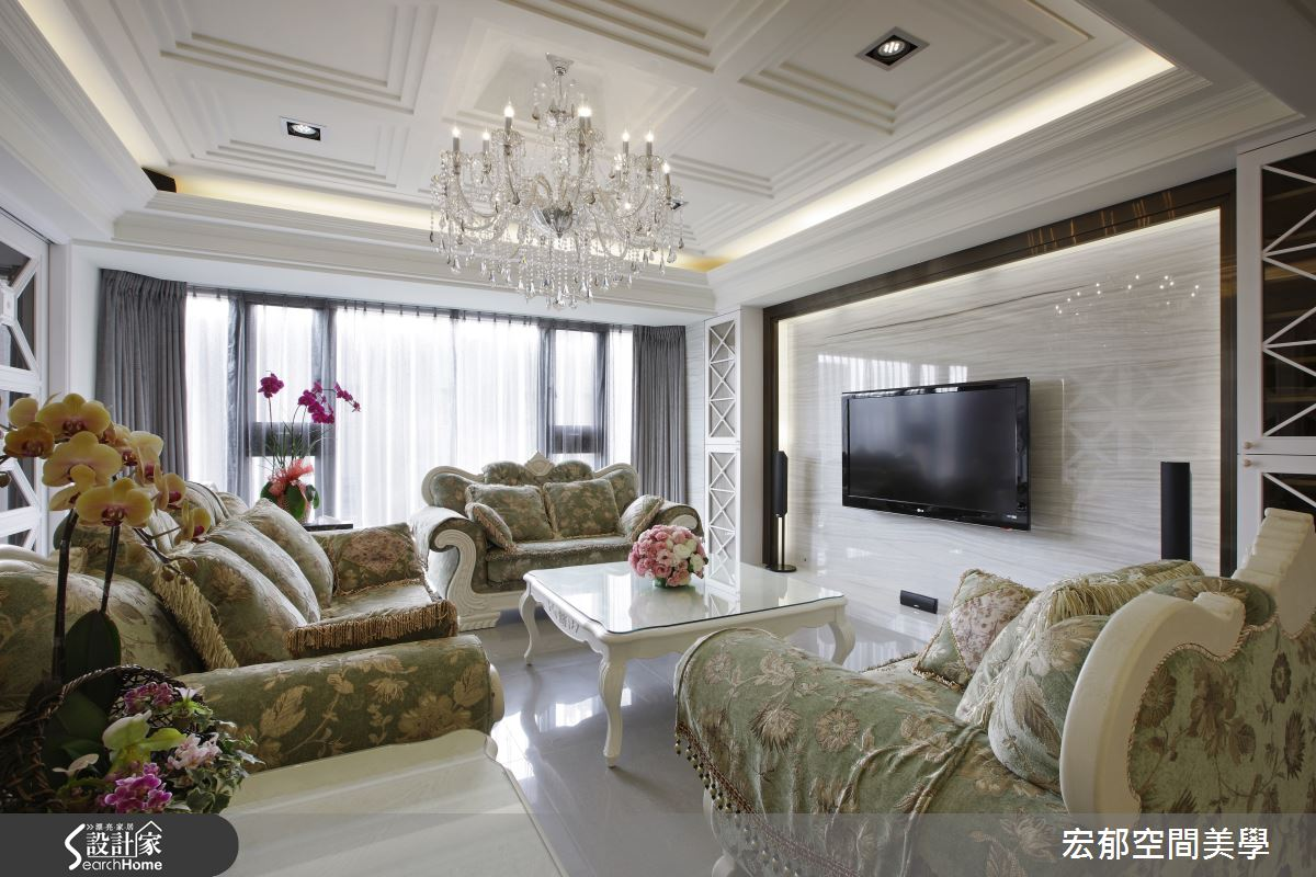看見新古典的淨白美顏!讓人好迷戀的典雅大宅