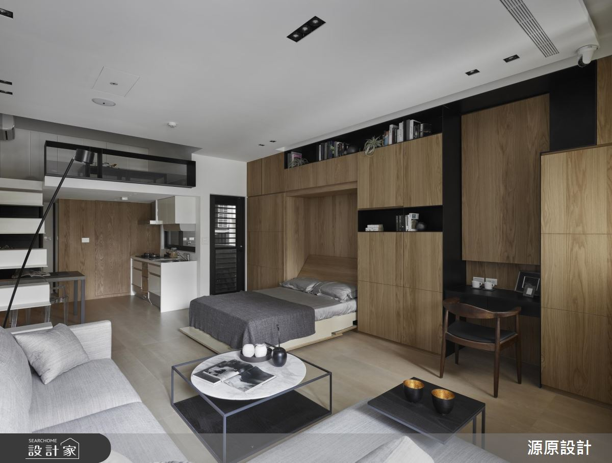 單身貴族的獨享時光 都在 17 坪都市超彈性設計寓!
