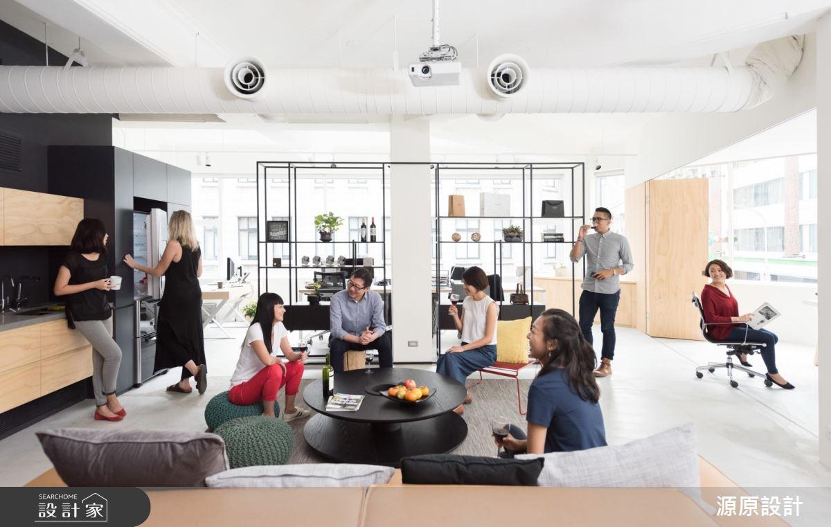 上班派對新風潮!由員工決定 Loft 風格的歐美系辦公室