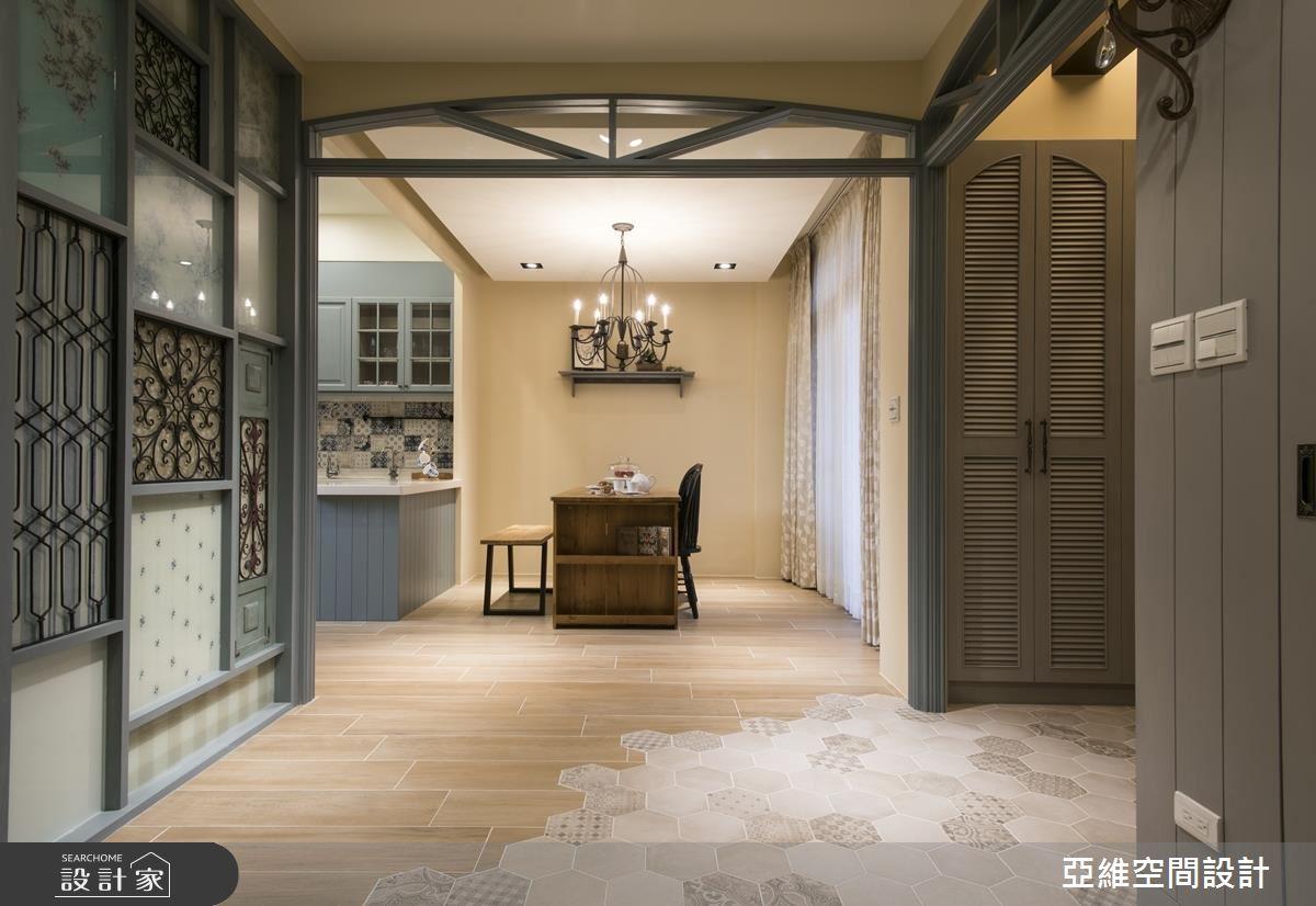 用義大利托斯卡尼式魅力,打造 85 坪鄉村宅的花漾情調!