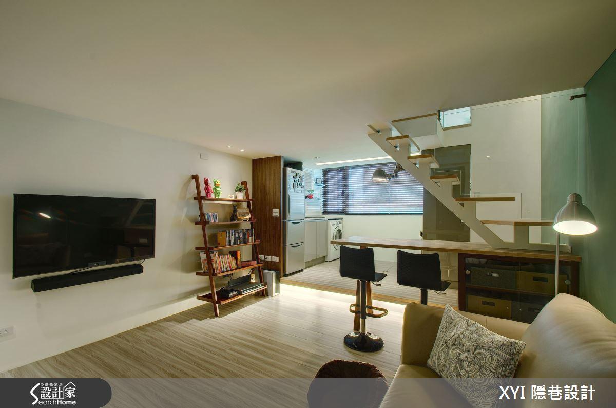 挑高好視野 機能再Double! 19坪打造兩房兩廳兩衛浴