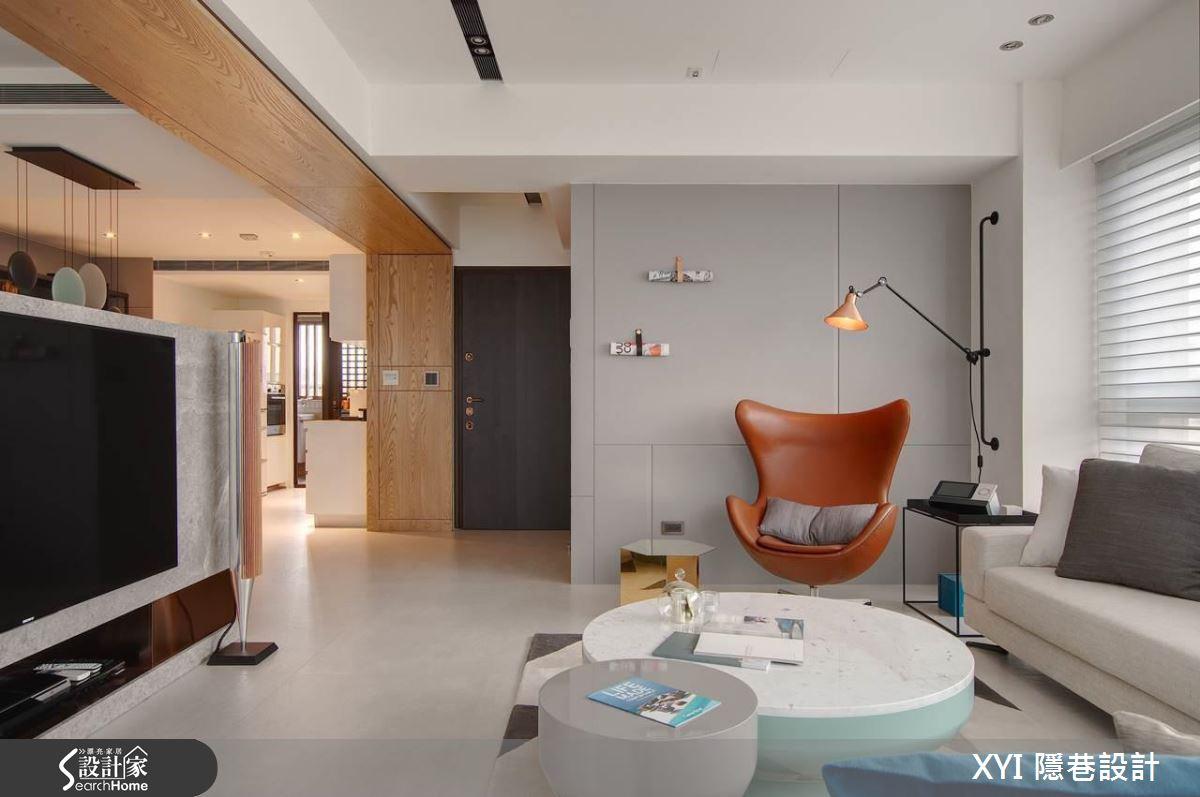 讓空間更大一點! 一眼就迷戀的 36 坪清新顏質