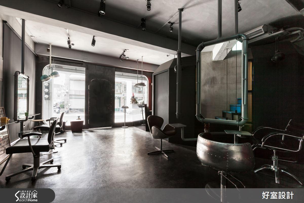 我型我塑髮廊空間 展開超現實奇幻斑斕序曲