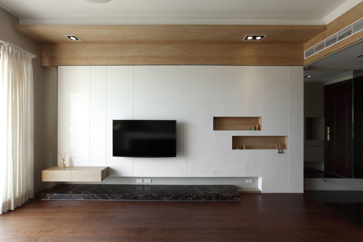 三回合溝通定案!效率完成 26 坪木質收納居家