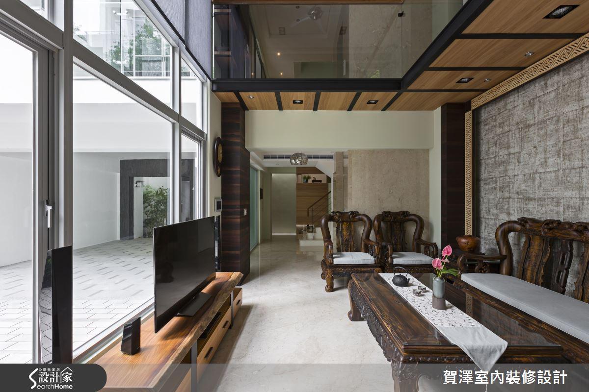 150 坪新東方風大宅 串連綠意脈動的三代之家