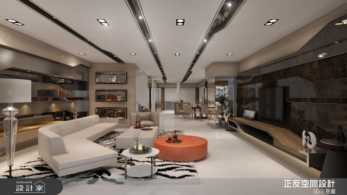 現代風透天別墅 精緻壁材 x 輕奢質感的完美演繹
