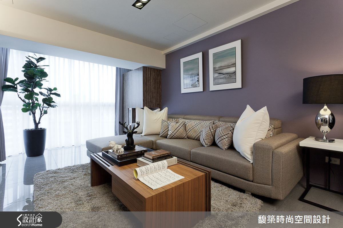 兼顧開運風水與優雅美型,28坪老屋變身精品質感飯店風居家