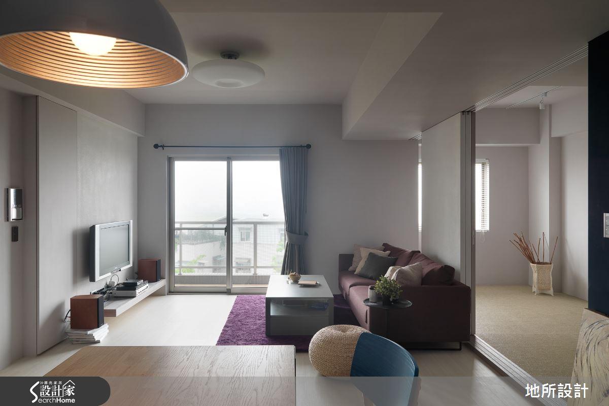 30 坪的蔚藍單身宅  給你現代風自由好生活