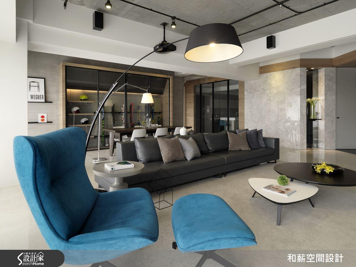 土耳其藍單身異想世界 值得你入住的設計好宅
