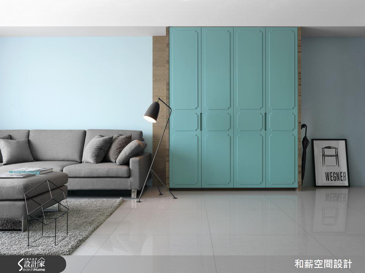 拆開 Tiffany blue 的夢幻禮盒 嫁給鑽石般閃耀的 25 坪唯美設計!