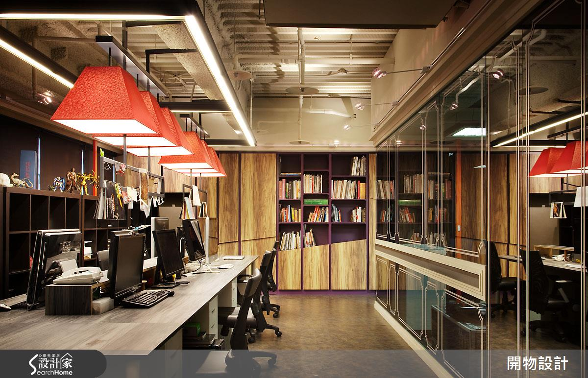每天都甘願去上班!50 坪的混搭美感辦公空間