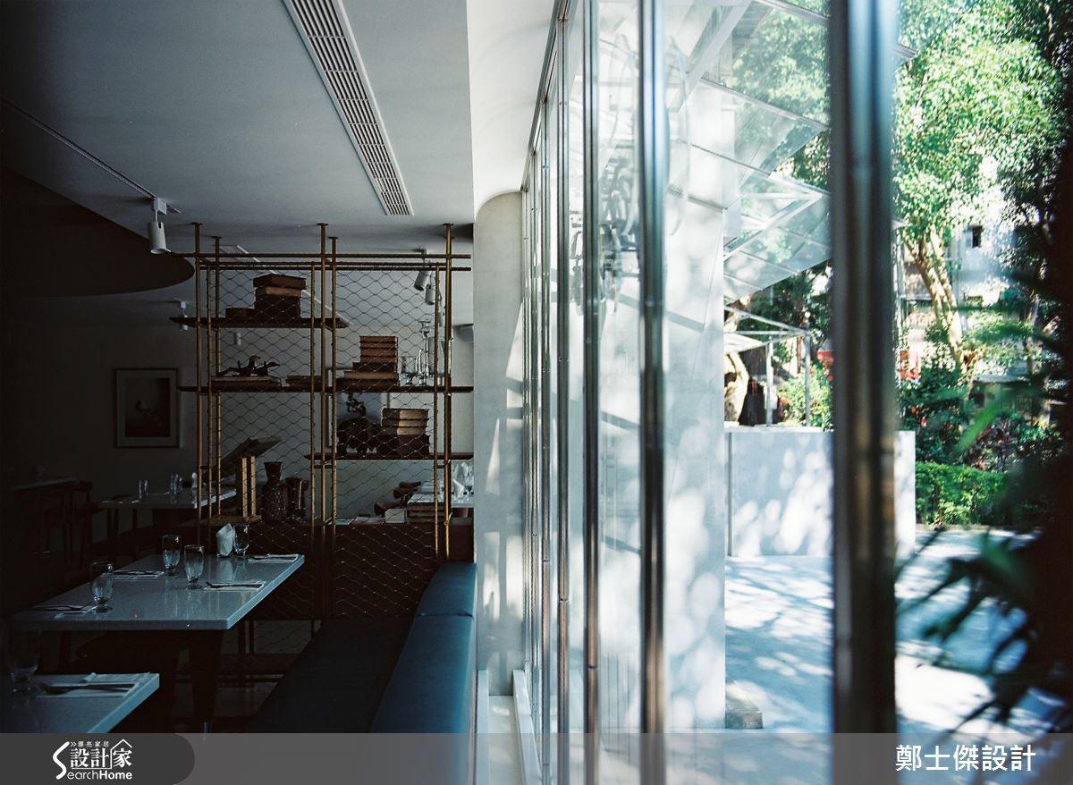 老屋變身風格餐廳 演繹底片色澤的復古想像
