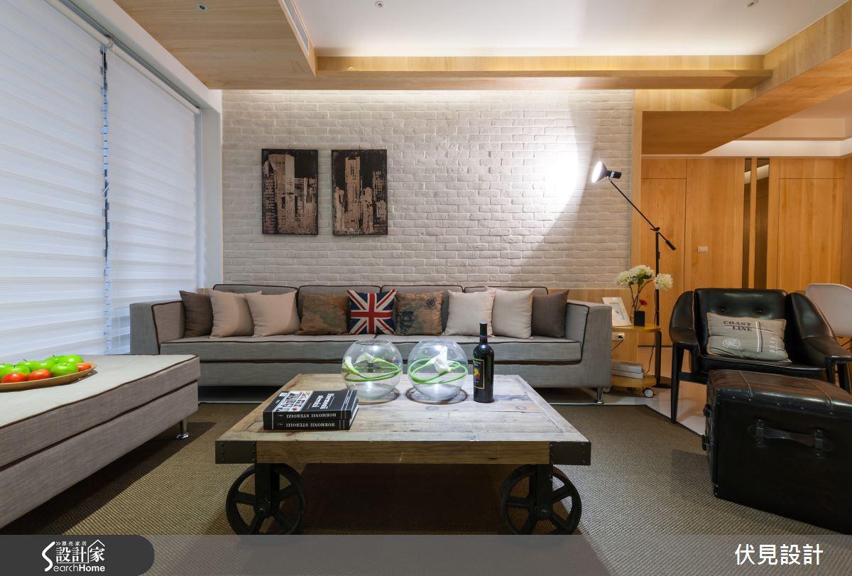 當英倫工業風戀上北歐風的清新感,這樣的 Loft 風美宅真的超有型!