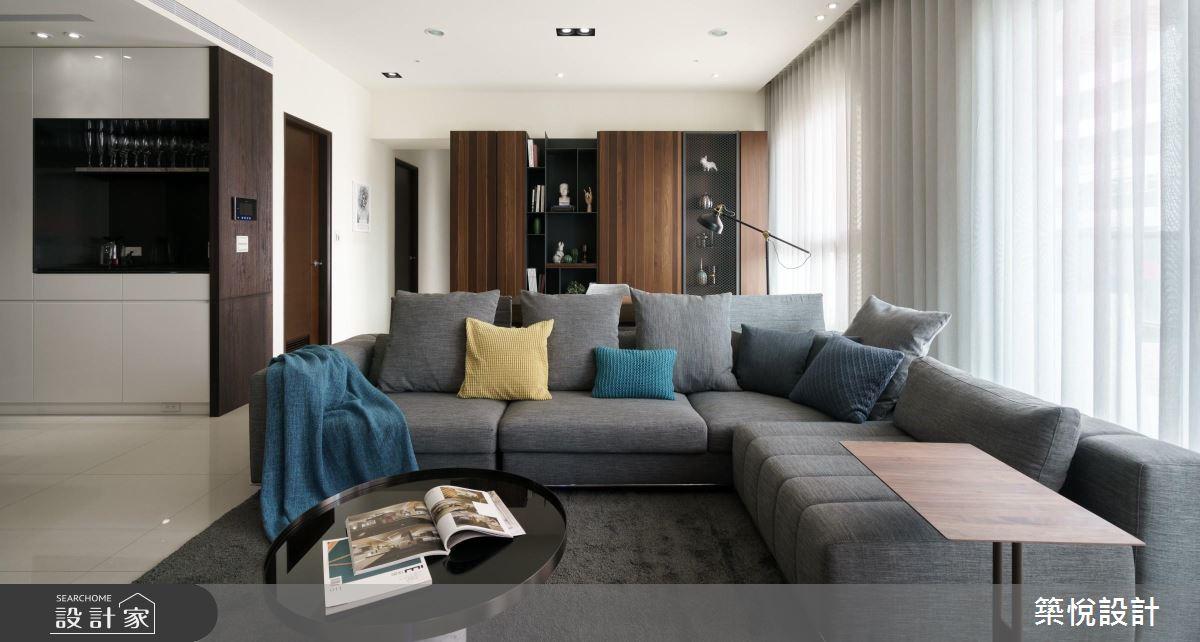 享受時尚優質生活!有品味的 38 坪現代風居家