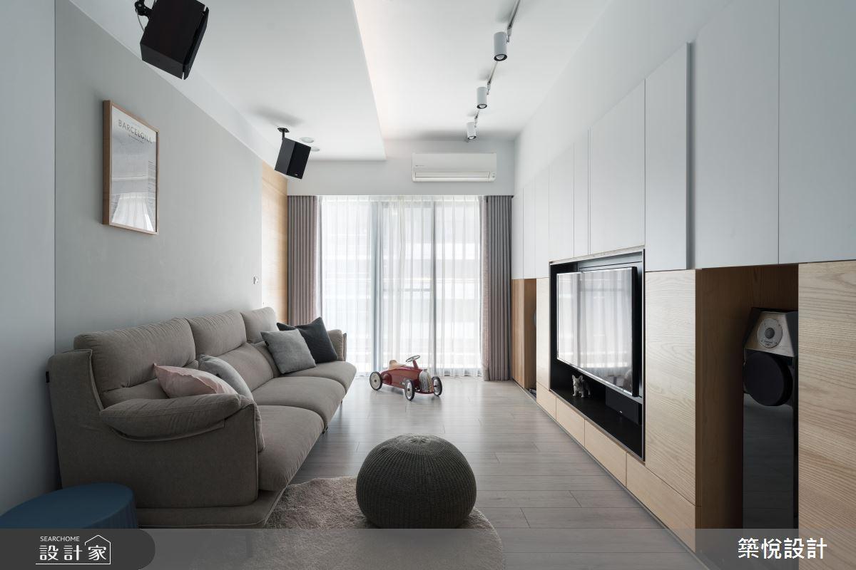 實現一家三口夢想! 揉合機能與淨透美學的北歐風小宅