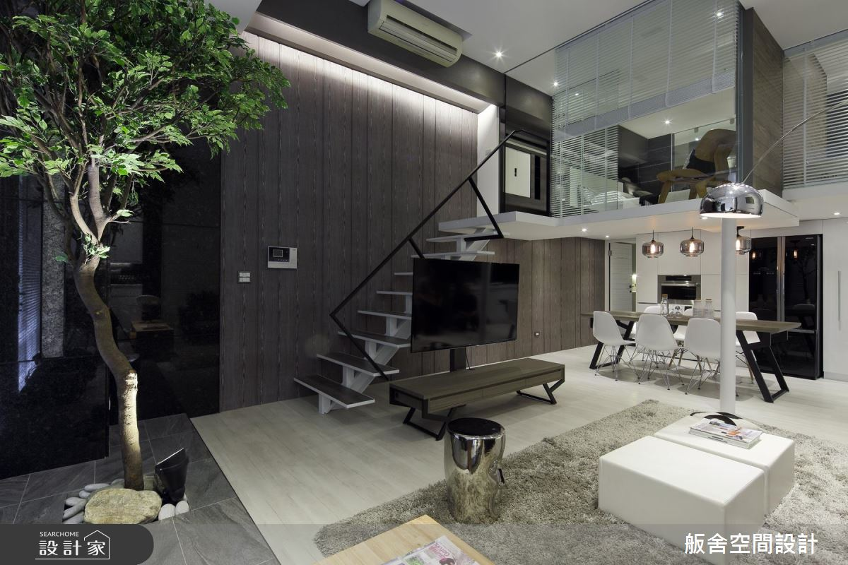 26坪新婚宅樓中樓 !藝術 x 自然 x 綠意的生活視野