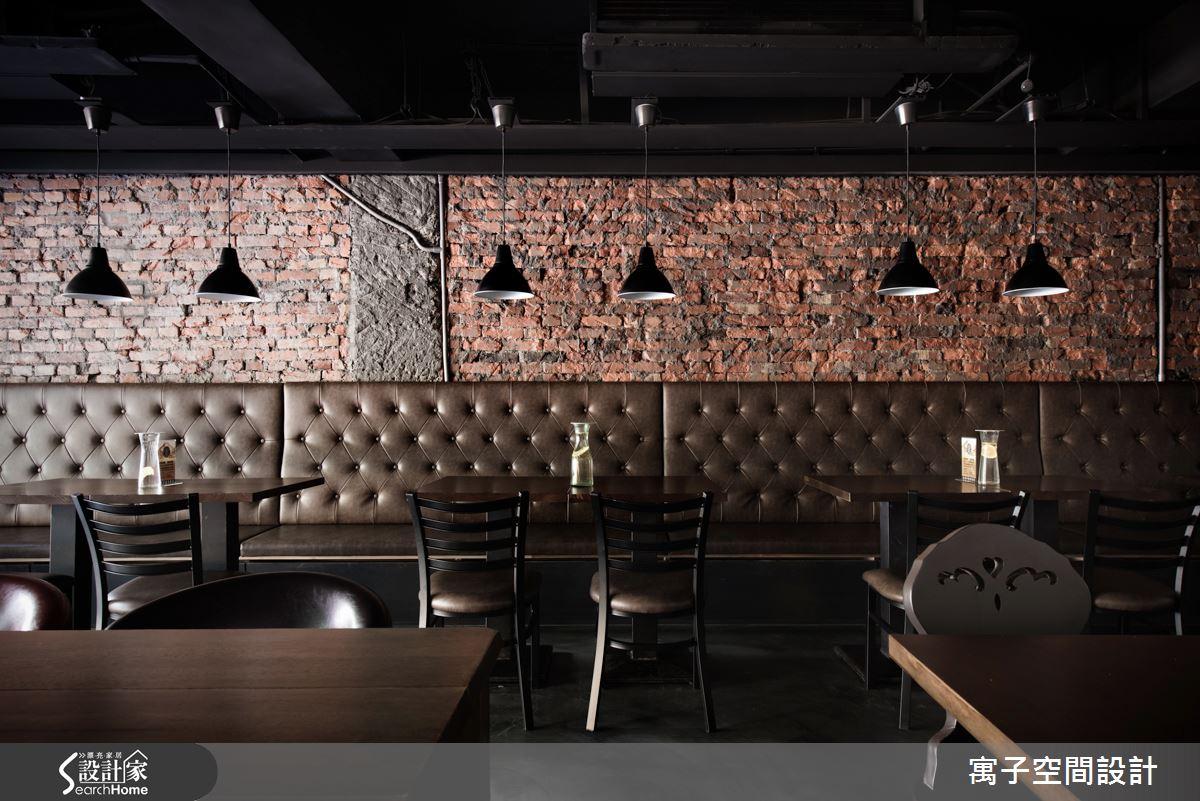 最迷人的紅磚牆! 打造道地 Loft 風倉庫餐廳