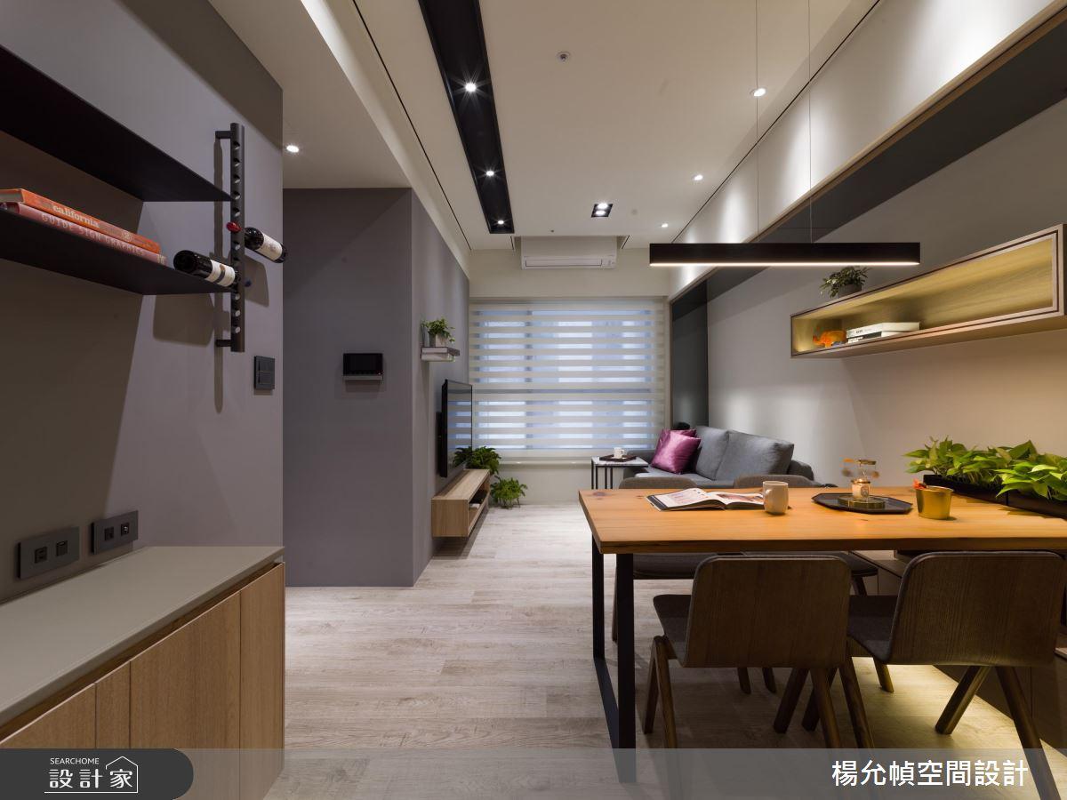 清新木意x流暢動線!18 坪的高機能品味單身宅