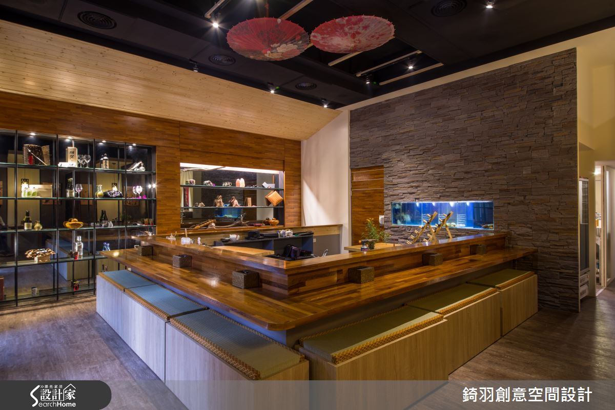 賞味日式質感 品嘗精緻與典麗的 20 坪料理店