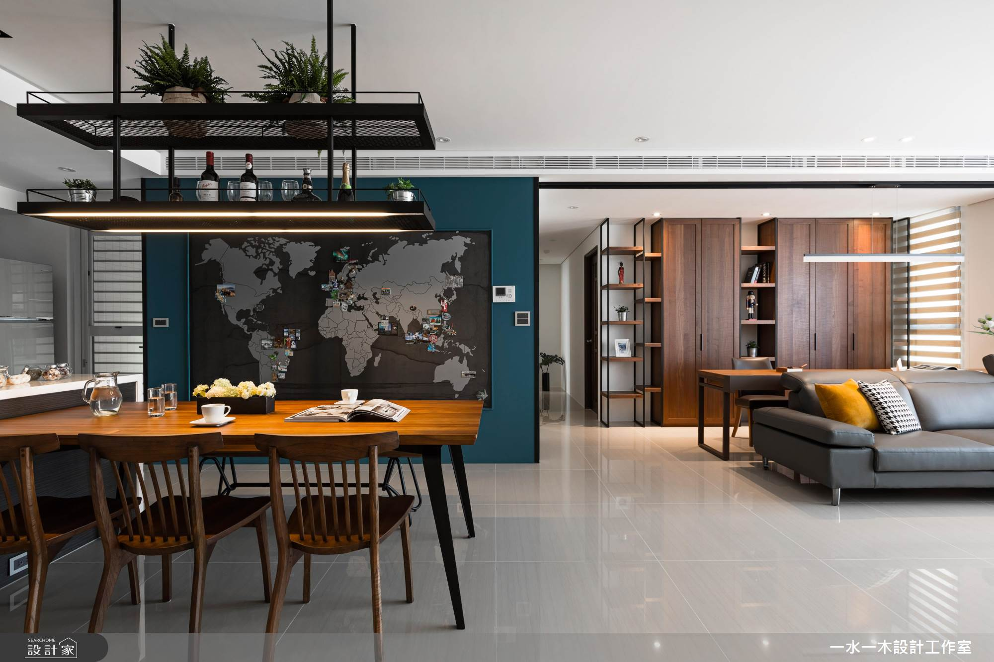 國度旅行X中島廚房X風格收納 揉合純淨自然的家屋魅力