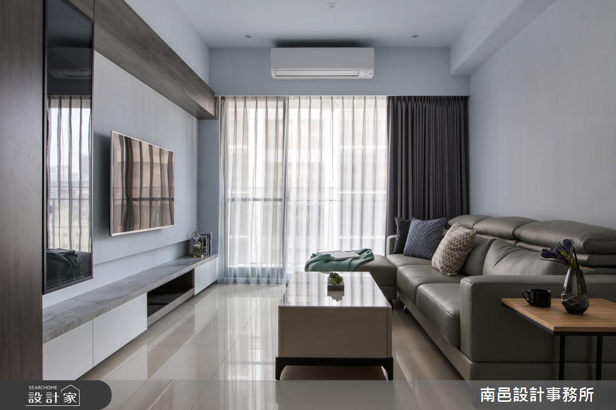 收納 X 美感的最佳比例!打造一家 4 口的 26 坪現代宅