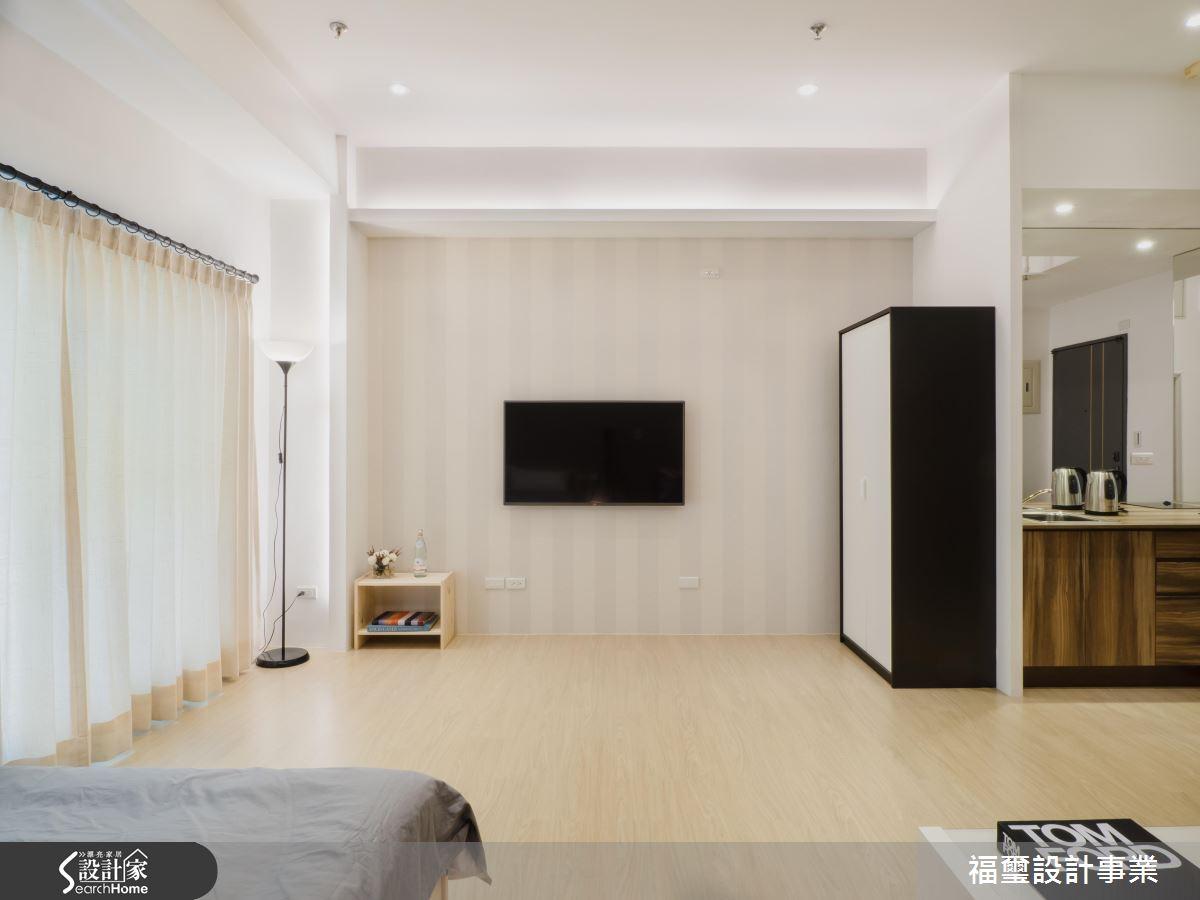 我的無印系旅店小宅!超機能 10 坪現代風迷你套房