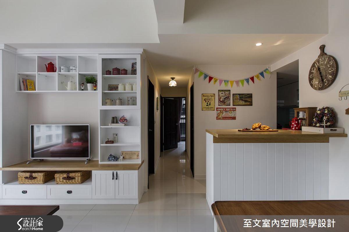 幸福甜度剛剛好!在 25 坪日式鄉村宅 談一場浪漫異國戀!