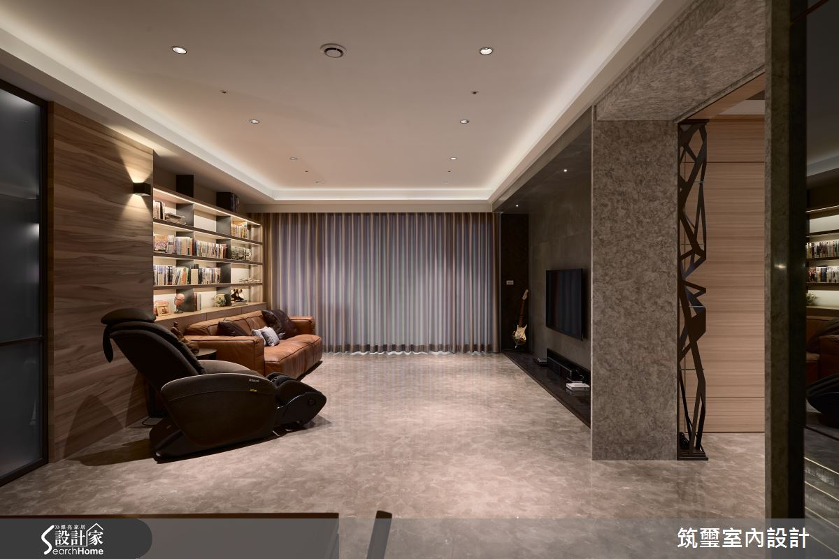 55 坪精緻大器宅邸 感受光度的細膩氛圍